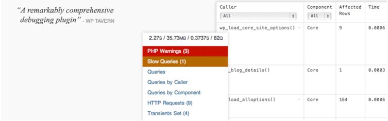 Бесплатно WordPress Плагины - Query Monitor