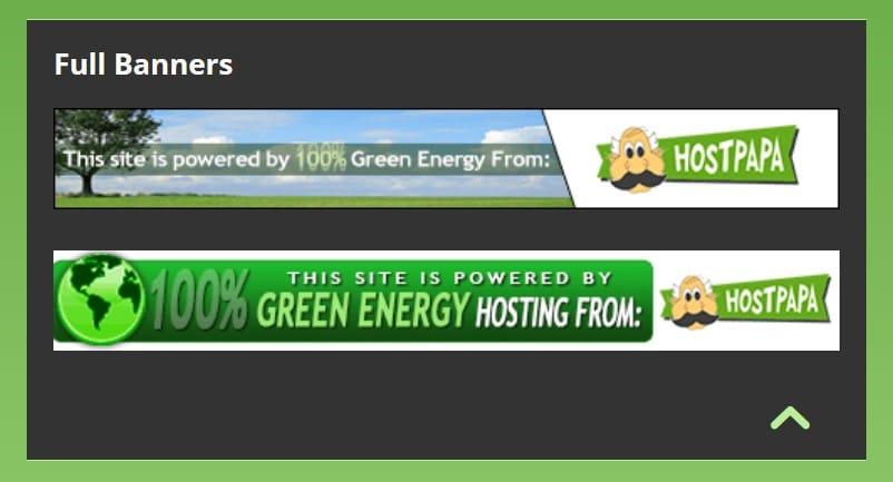 گرین انرجی بینرز