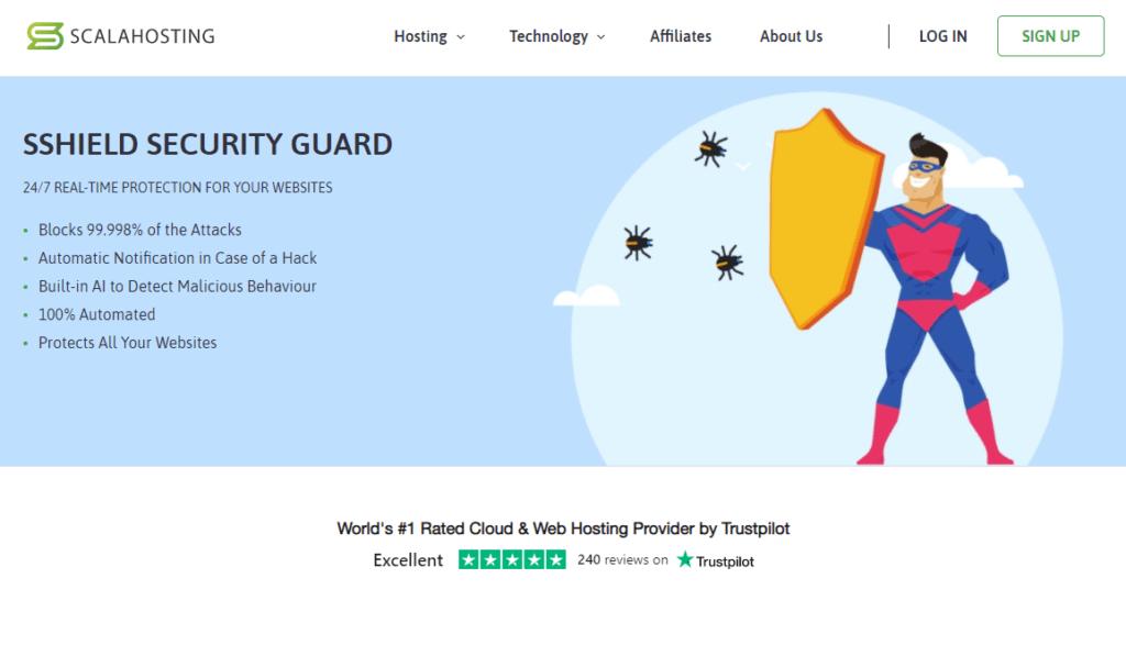 Chương trình an ninh mạng SShield được thiết kế để bảo vệ trang web của bạn