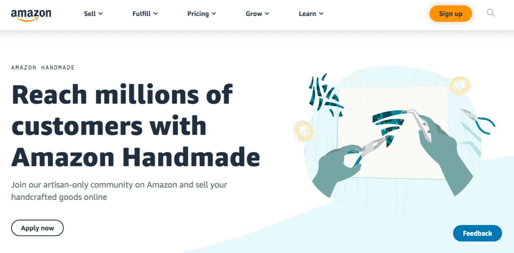 amazon håndlavet
