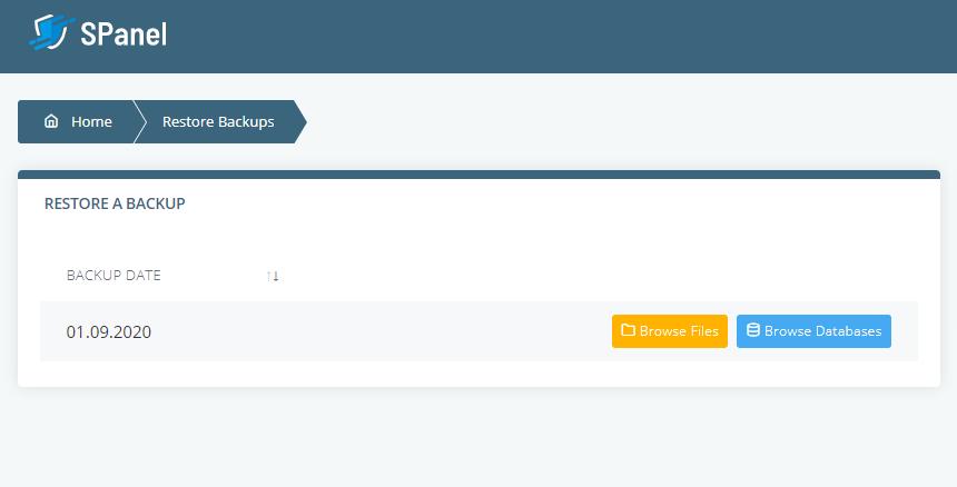 Scala cung cấp các bản sao lưu hàng ngày tự động