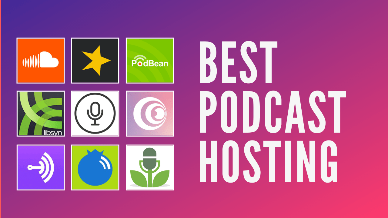 beste podcast hosting plattformer