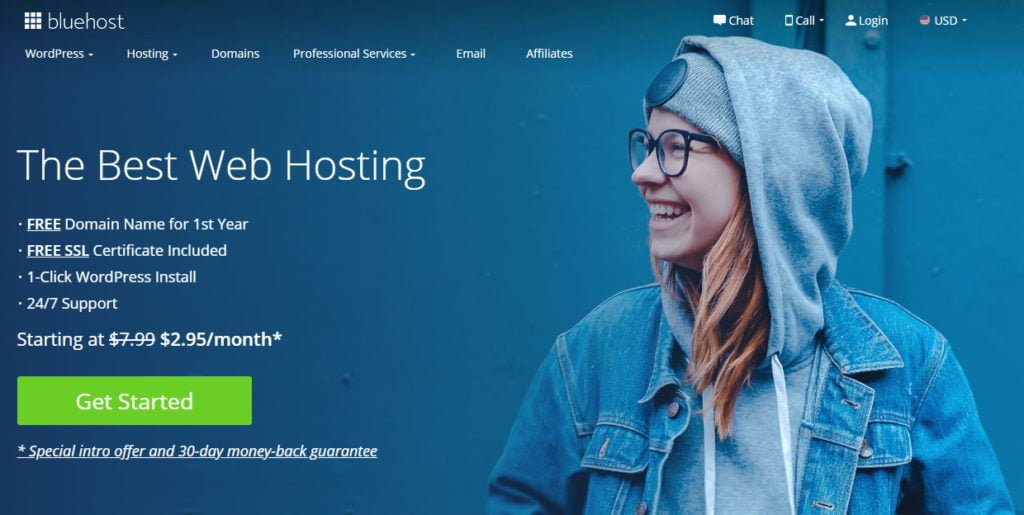 Bluehost critique