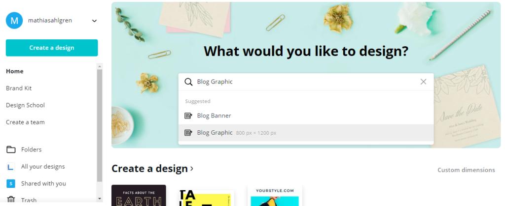 블로그 디자인 canva