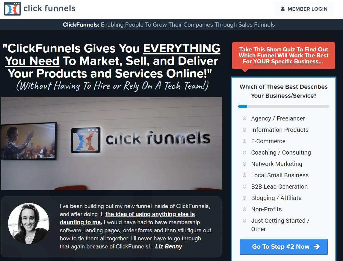 clickfunnels البدائل