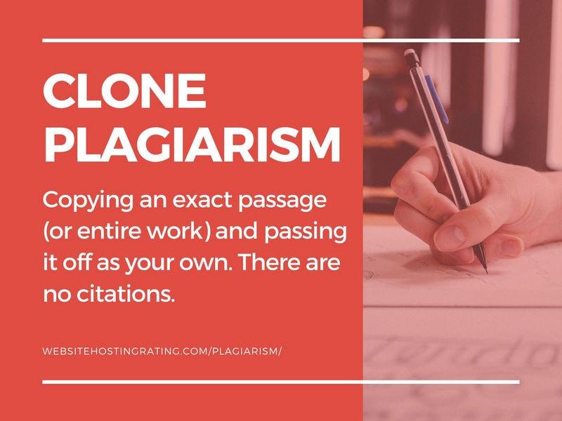 clone plagiarism