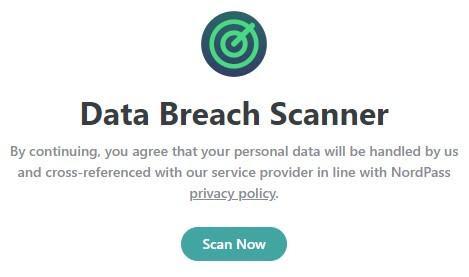 data breach scanner