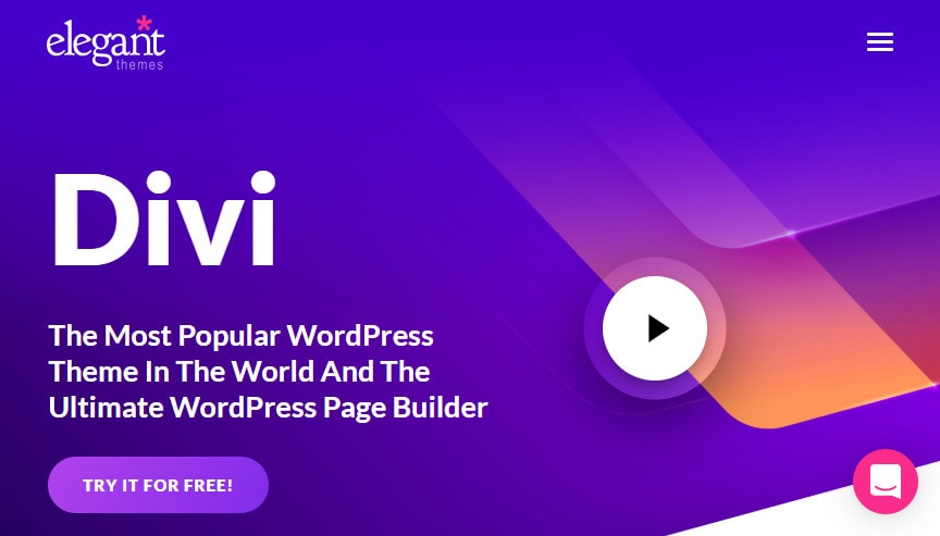 divi theme visual page builder