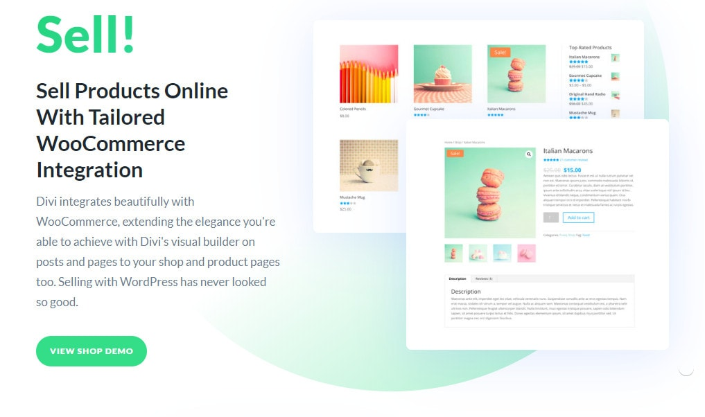 divi integrasi woocommerce