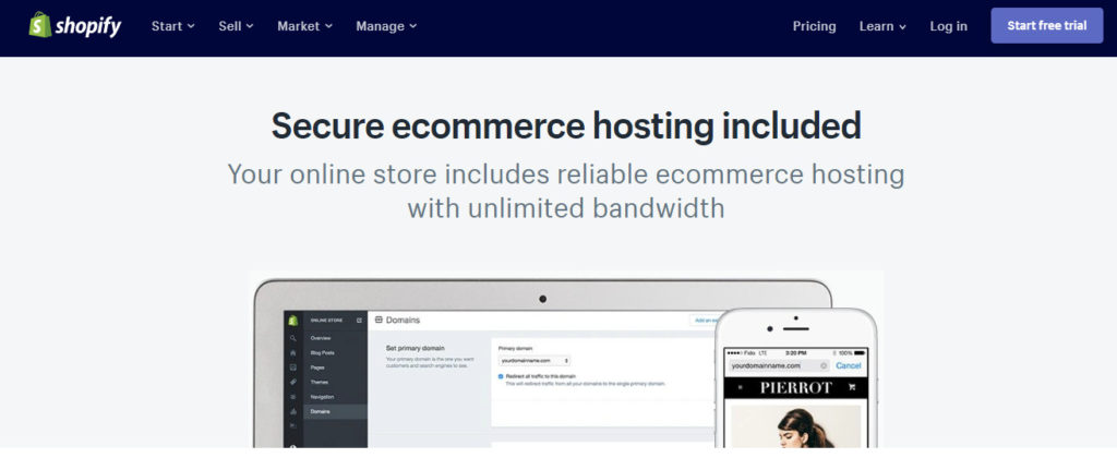 hosting web e-commerce affidabile