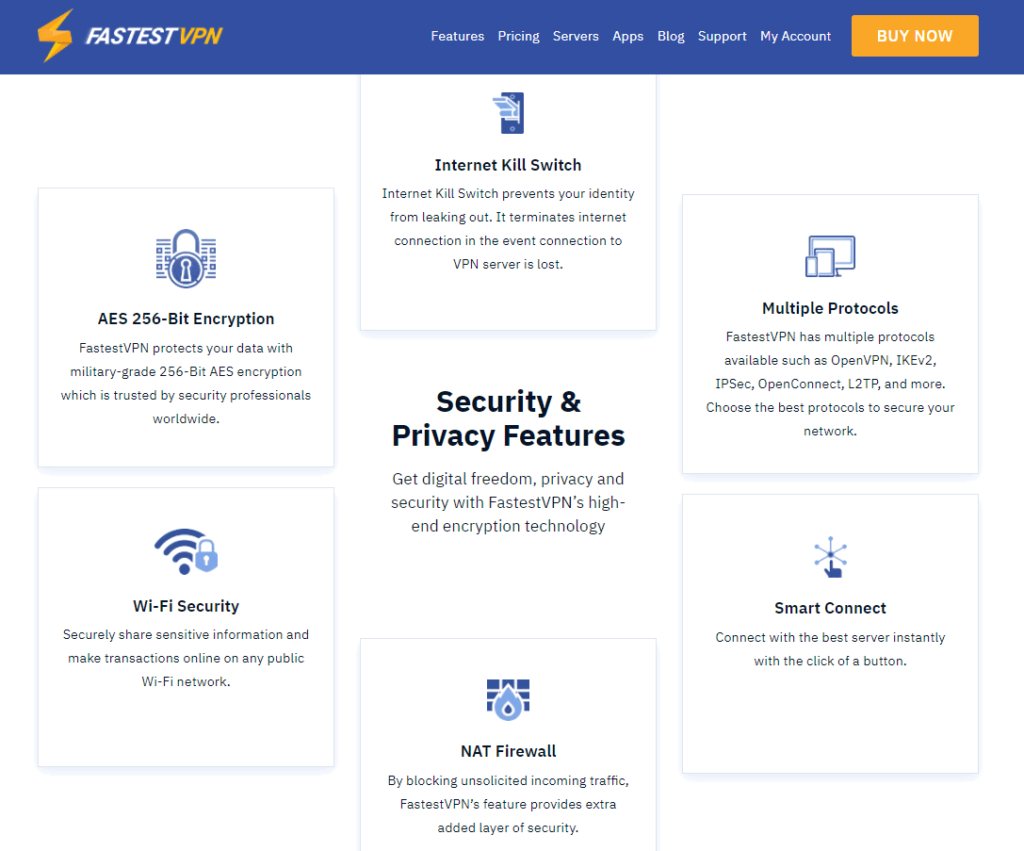 funzionalità VPN più veloci