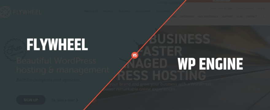 flywheel vs wpengine wordpress hosting