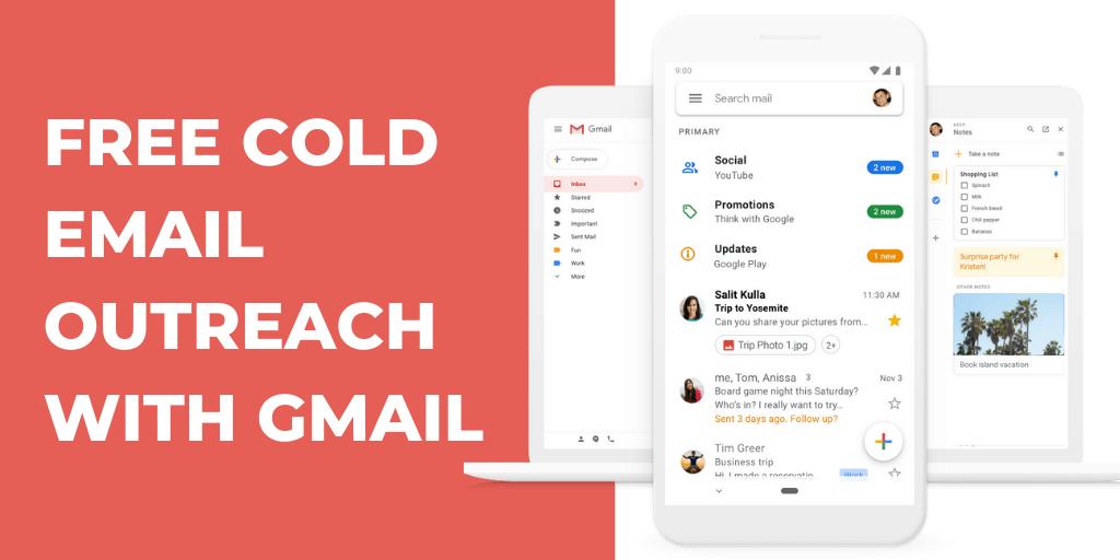 как да направим безплатна студена електронна поща с Gmail