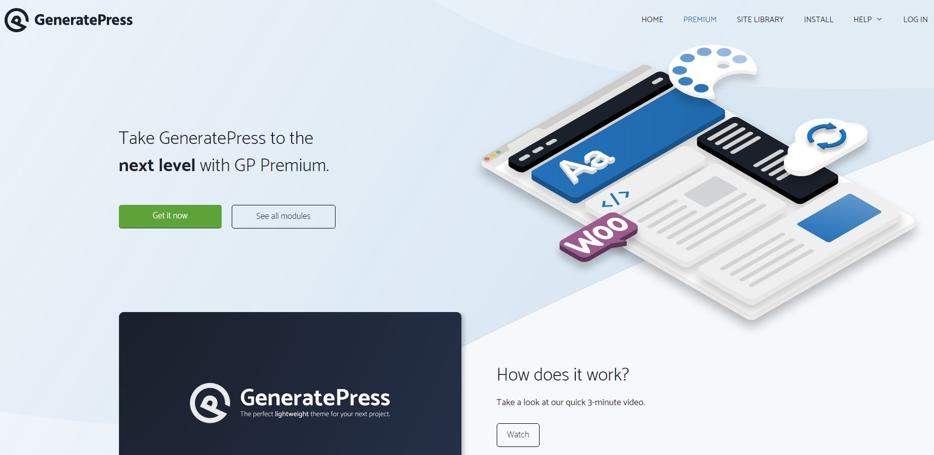 generatepress elementor themes