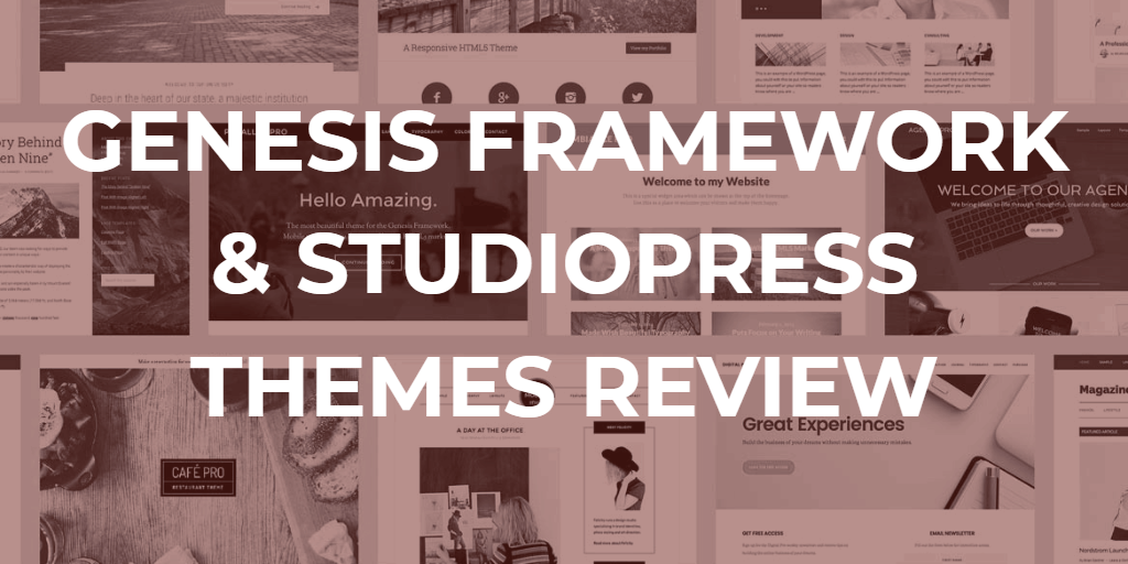 genesis framework at studyopress themes review