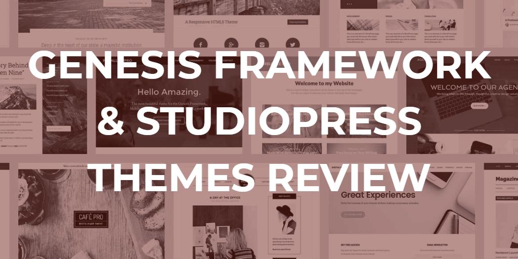 genesis rammeverk og studiopress temaer vurdering