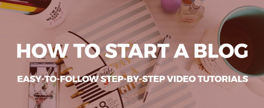 hvordan man starter en blogvideo-tutorial
