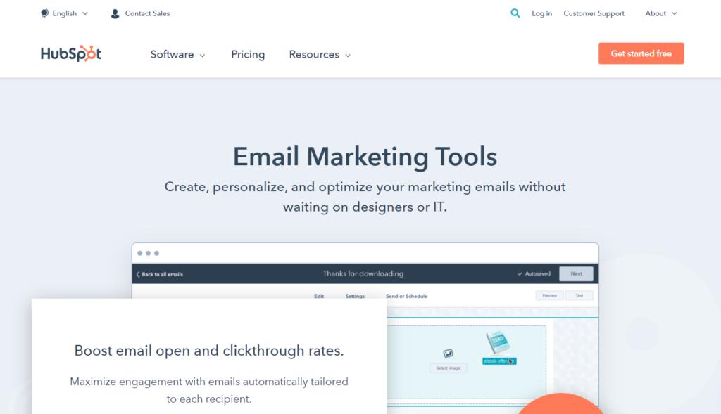 hubspot e-mail-marketing