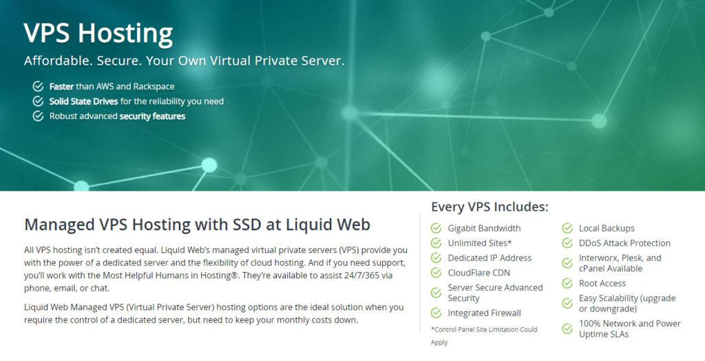 Liquid Web託管的VPS託管
