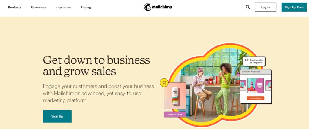 Strona główna Mailchimp