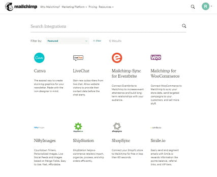 mailchimp-integrationer