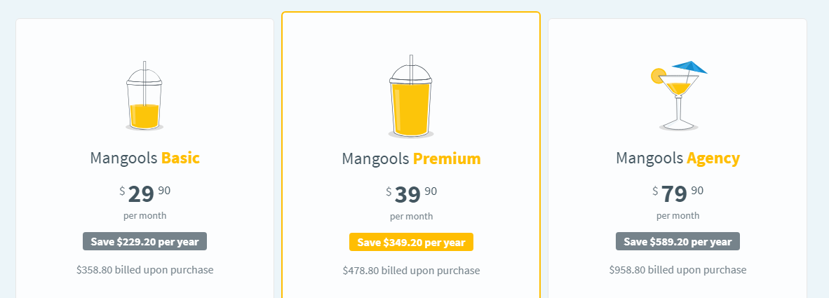 mangools plans and pricing