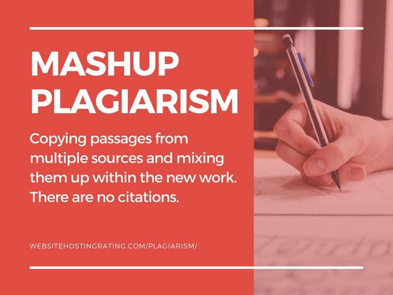 mashup plagiarism