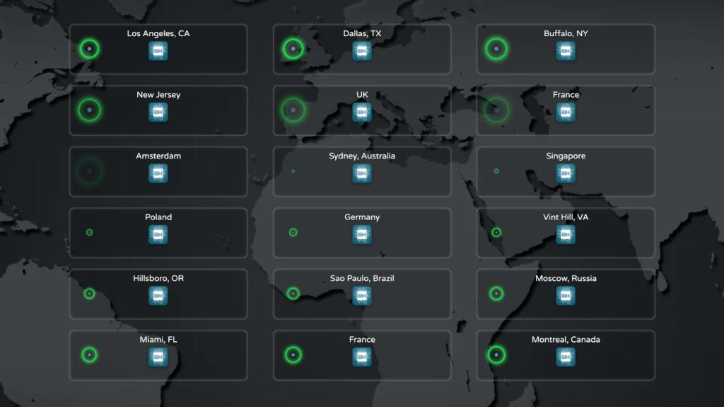 locais do servidor minecraft