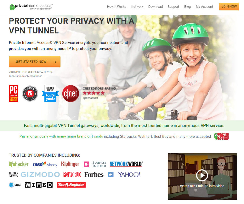 Privateinternetaccess (पिया)