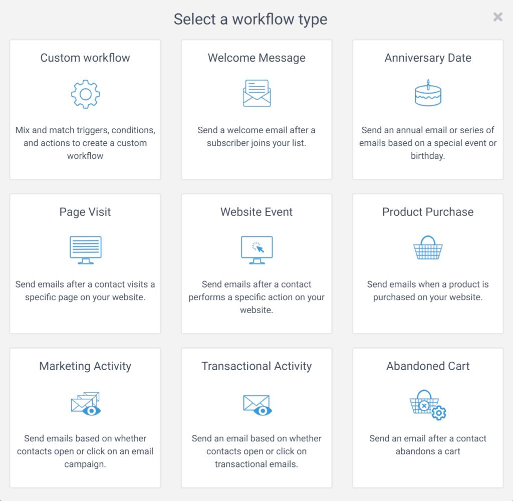sendinblue automation workflow