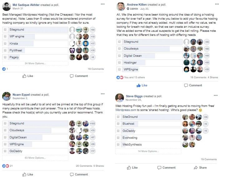 facebook surveys