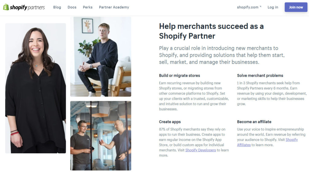 Shopify Partners and App Developers
