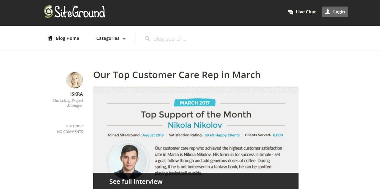 siteground blog