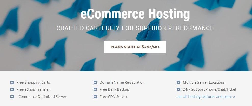 Hosting e-dagang siteground