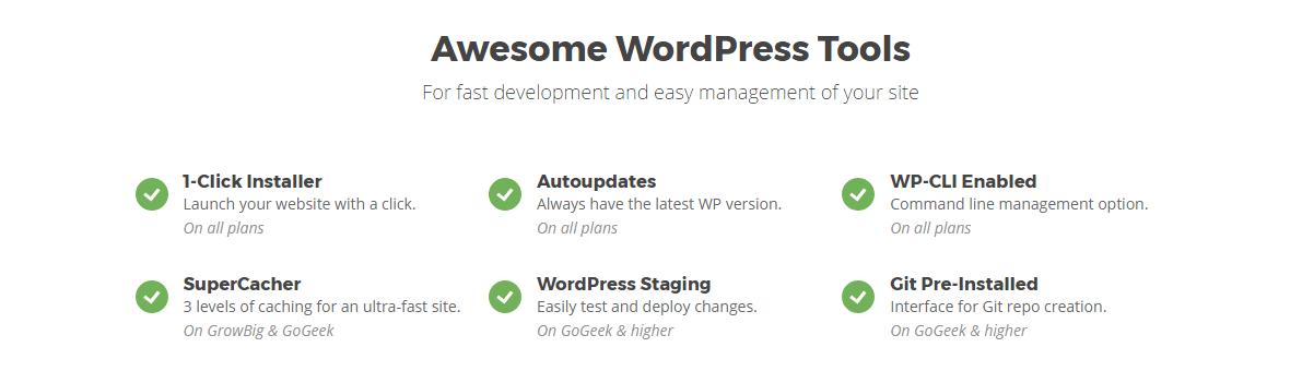 situs web dikelola wordpress hosting