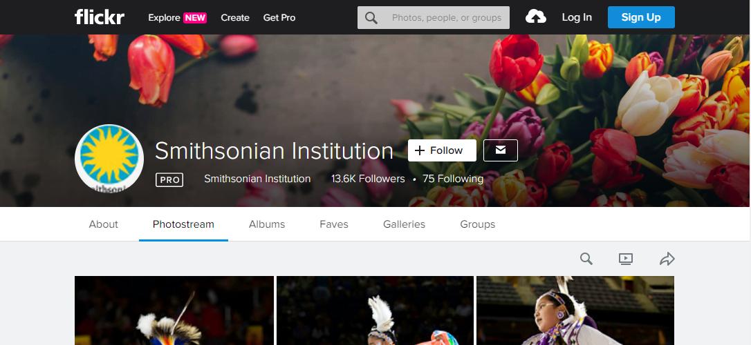 Смитсоновский институт на Flickr