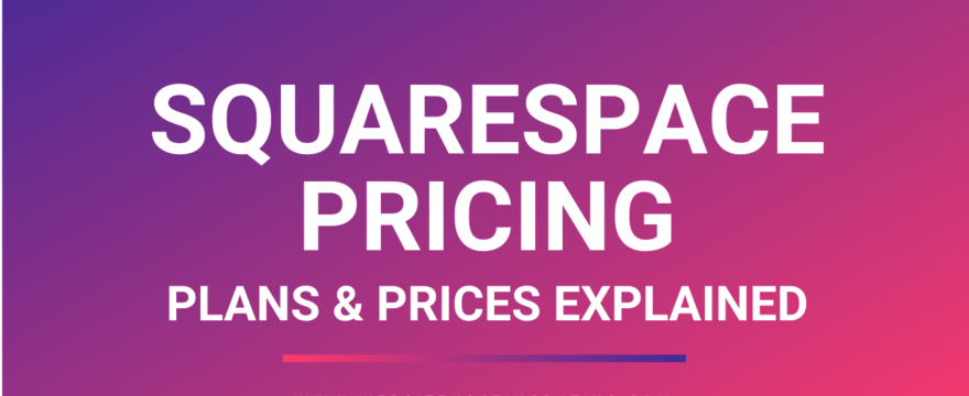 squarespace pricing explained
