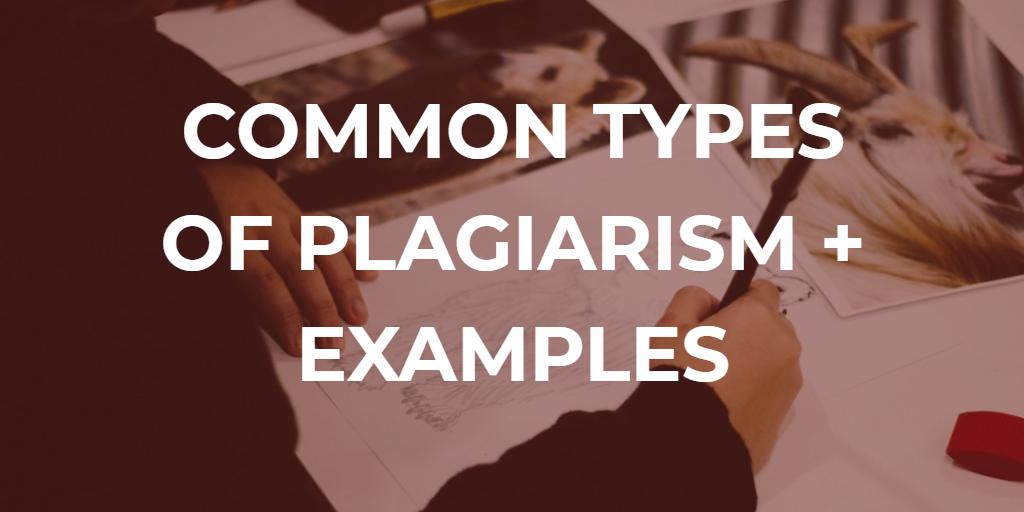 uri ng plagiarism na may mga halimbawa